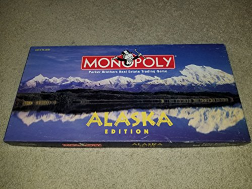 "Monopoly Alaska Edition ""The Great Land"""