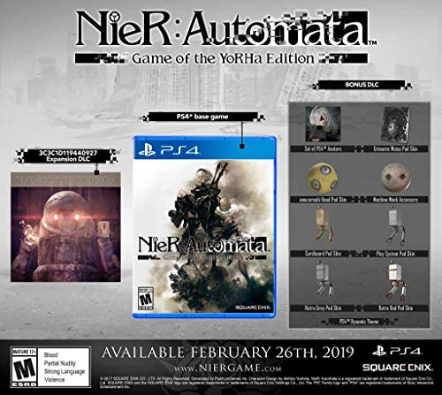 PS4 Nier: Automata Game of the YoRHa Edition ESPAÑOL PlayStation 4 CON REGALO: Amazon.es: Videojuegos