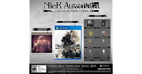 PS4 Nier: Automata Game of the YoRHa Edition ESPAÑOL PlayStation 4 ...