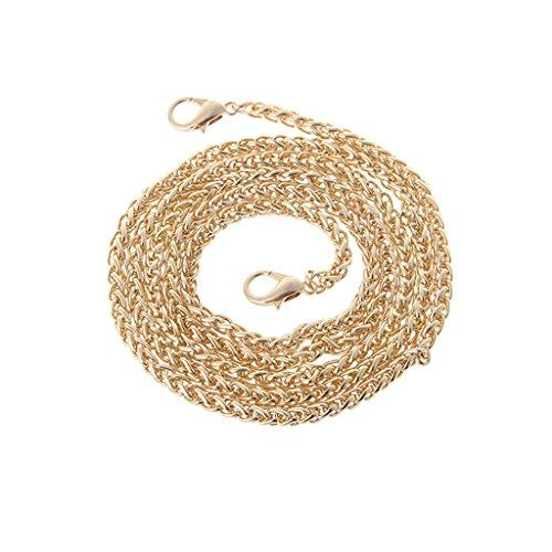 Silver Replacement Bag Purse Shoulder Handbag 120cm Gold Strap Handle Crossbody Thobu Chain Metal PpUwdqP