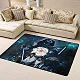 Star Wars Super Soft Carpet Easy Clean Stain Fade