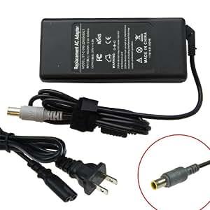 Laptop AC Adapter for Lenovo 3000 C100 C200 N100 N200 V100 V200 Lenovo Thinkpad R60 R60e R60i R61 R61e R61i R400 R500 SL300 SL400 SL500 T60 T60p T61 T61p T400 T500 W500 X60 X60s X61 X61s X200 X300 Z60m Z60t Z61e Z61m Z61p Z61t - 20V 4.5A 90 Watt