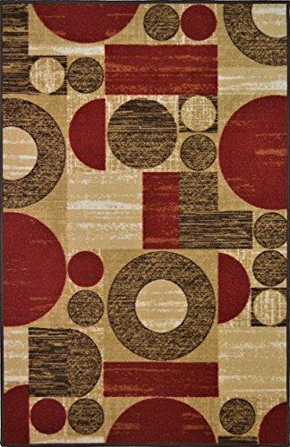 Collection Contemporary Circular Rubber Backed Non Slip product image