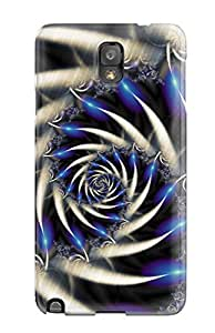 New Style BenjaminHrez Fractal Premium Tpu Cover Case For Galaxy Note 3