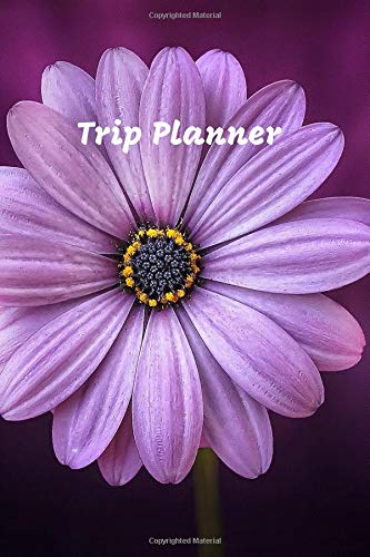 Trip Planner: Travel Journal & Vacation Planner with Checklist, Travel Goal, Daily Plan, Daily Rate, Notes (Colorful, 80 pages, 6 x 9 inches) Travel Gift