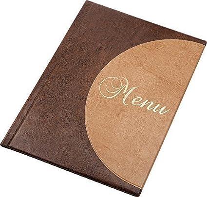 Carpeta para menús tamaño A4 12 Páginas para Restaurantes Pubs Hoteles Mesas C2