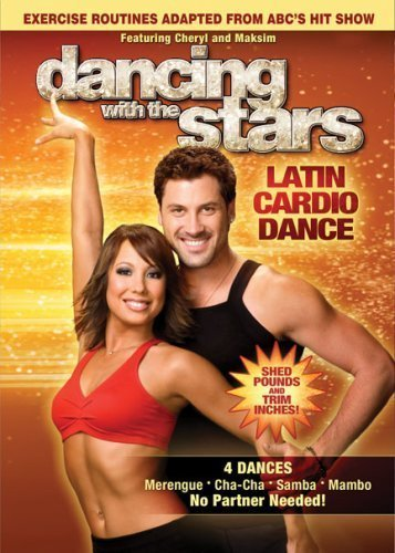 (Dancing With The Stars Latin Cardio Dance DVD 4 Dances Merengue / Cha-cha / Samba / Mambo)