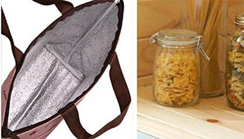 Repas Déjeuner 31x12x22cm De Cdet Style Pliable Sangle Storage En Panier 1 Etanche Tissu Oxford Sac D'epaule 1pc Packing travel Bag RgXgEqf