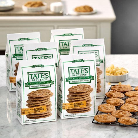 Tate's Bake Shop 6 Pack Gluten Free Ginger Zingers by Tate's Bake Shop