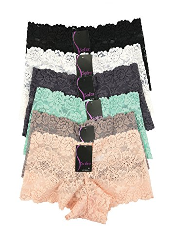 Sofra Hipster Panties Polyester Underwear