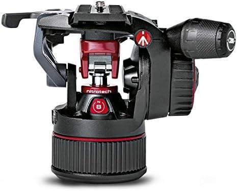 Manfrotto MVHN8AH Cabeza de tripode Negro, Rojo Aluminio 3/8 ...