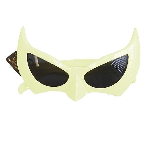 cbec1b4687f Amazon.com  MyPartyShirt White Bat Style Sunglasses  Clothing
