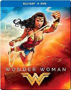 WONDER WOMAN (STEELBOOK/BLU-RAY/DVD)