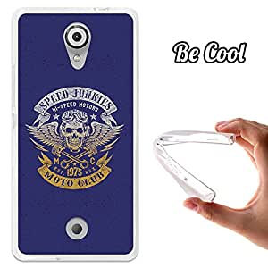 BeCool® - Funda Gel Flexible Wiko Tommy Speed Junkies Motorcycle Carcasa Case Silicona TPU Suave