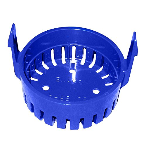 Replacement Strainer Base for Round 360-1100 Gph Bilge Pumps ()