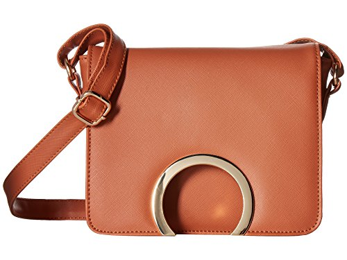 Rampage Women's Ring Detail Crossbody Raw Sienna One Size