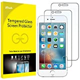 iPhone 6s Plus Screen Protector, JETech 2-Pack Premium Tempered Glass Screen Protector Film