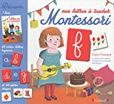 Coffret Montessori - Mes lettres à toucher