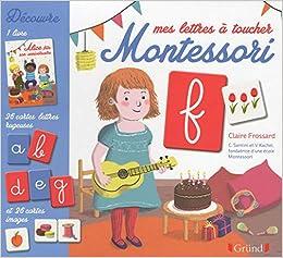 Mes Lettres A Toucher Montessori Coffret Avec 1 Livre 26