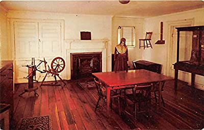 Shaker Room in Mansion Museum at Pioneer Memorial State Park Harrodsburg, Kentucky, KY, USA Postcard