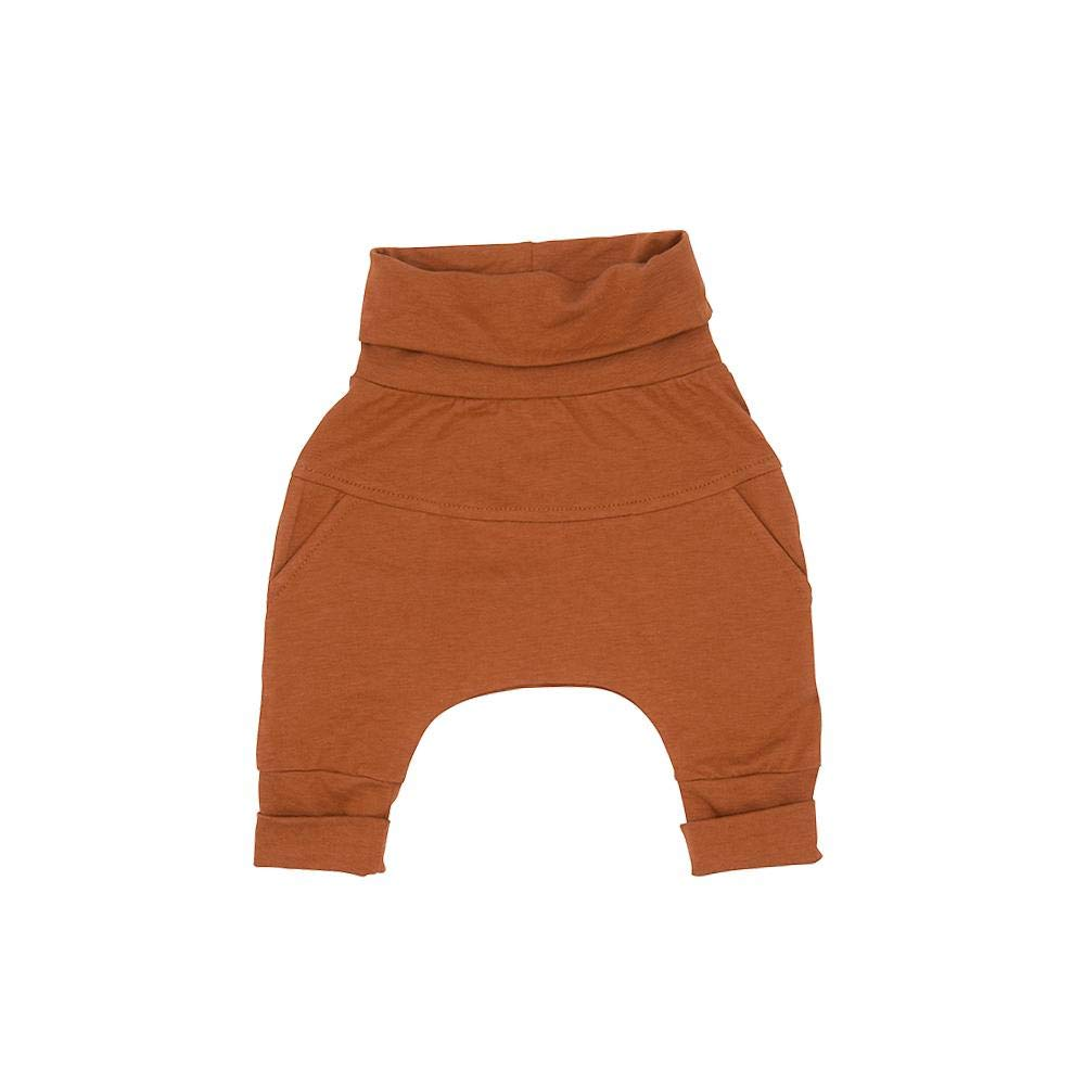 Little Red Beaches Unisex Organic /& Bamboo Cotton Grow with me Pants Baby Boy//Baby Girl