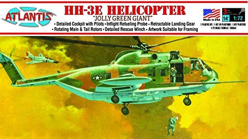 Jolly Green Giant Helicopter Plastic Model Kit 1/72 Atlantis