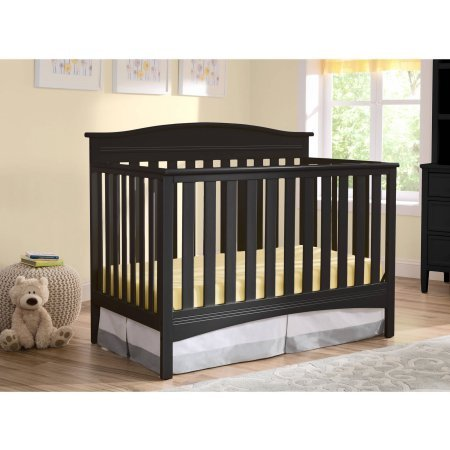 Delta Children Baker 4-in-1 Convertible Crib, Choose Your Finish