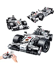 WINNER SPACE Remote Control Formula 1 Racing Car Building Blocks Set, MOC STEM Toys for Boys 6-12 Up Years Old, 1:12 Scale RC Model bricks Kit, Gift for Boys Girls adults, 729 Pieces