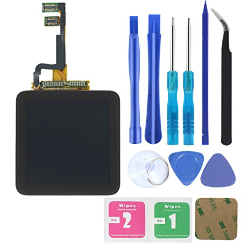 (for iPod Nano 6 Screen Replacement - IEZFIX LCD Display Touch Digitizer for Nano 6th with Repair Tools Kit and Adhesive)