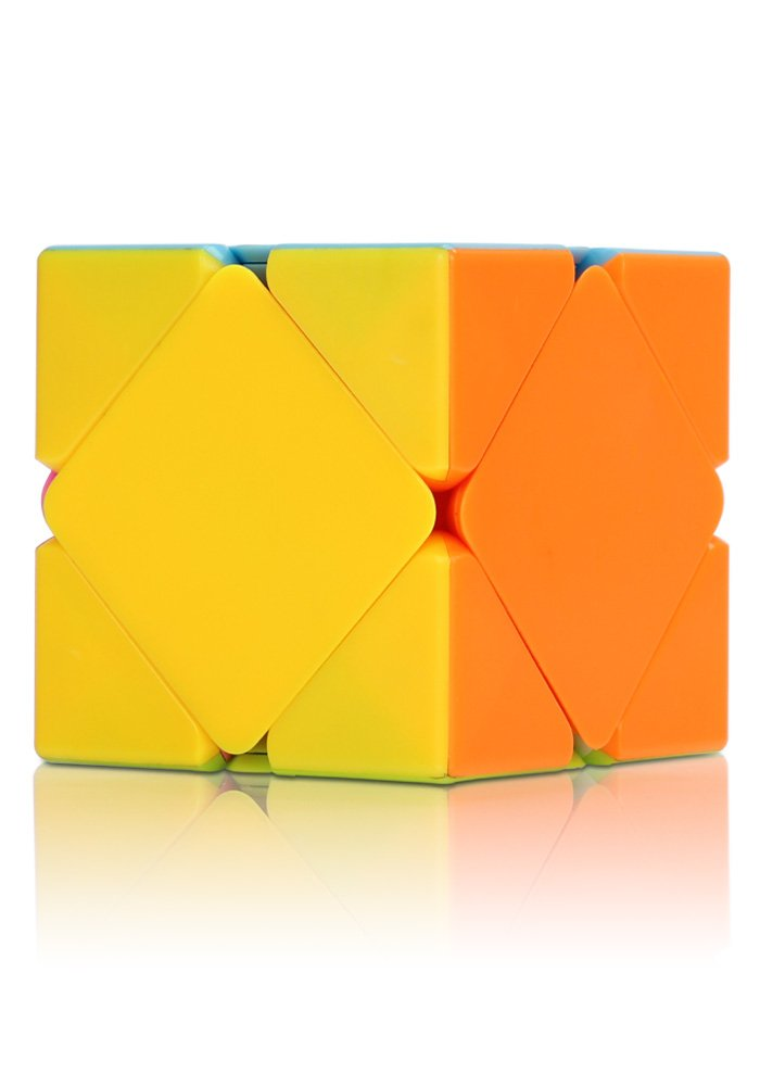Playwin 3x3 Abnormity Color Stickerless Skewb Speed Cube Puzzle