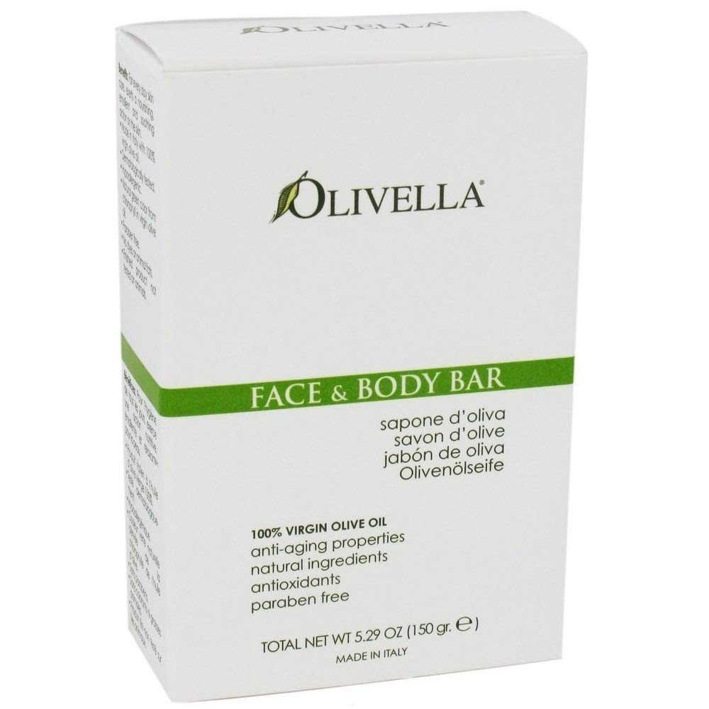 Olivella Soap Bar 5.29 Ounce Face & Body (156ml) (6 Pack)