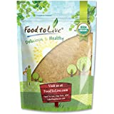 Food to Live Certified Organic Maca Powder (Gelatinized, Non-GMO, Kosher, Bulk) (2 Pounds)