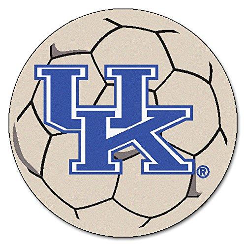 (FANMATS NCAA University of Kentucky Wildcats Nylon Face Soccer Ball)
