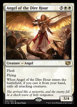 Magic: the Gathering - Angel of the Dire Hour (001/337) - Commander 2014