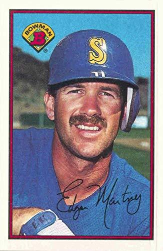 1989 Bowman - Edgar Martinez - 1st Official Bowman Card - Seattle Mariners Baseball Rookie Card - RC #216