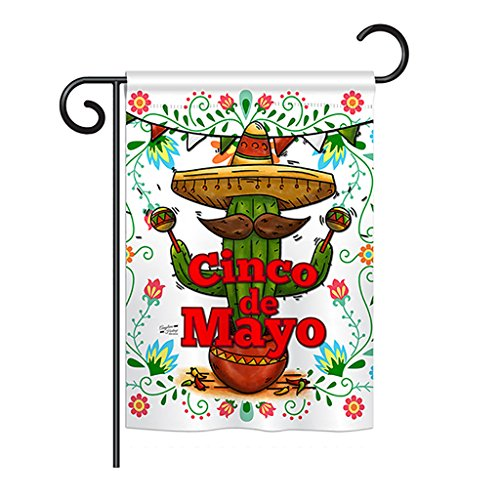 Angeleno Heritage - Cinco de Mayo Country & Primitive - Everyday Southwest Impressions Decorative Vertical Garden Flag 13