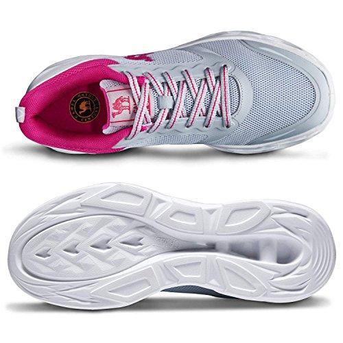 a Zapatillas Zapatos de Golpes Resistentes Deporte los Deportivas Correr para Gris Zapatillas y Trail Mujer Transpirables atléticas para HxxXqw