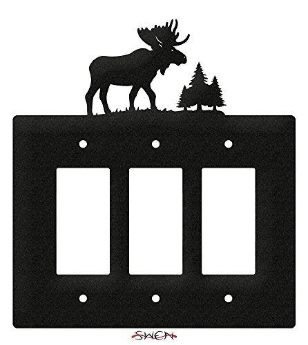 SWEN Products MOOSE WILDLIFE Wall Plate Cover