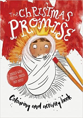 The Christmas Promise Book.The Christmas Promise Coloring And Activity Book Tales That