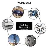 LinkStyle Car Digital Voltmeter, Waterproof DC