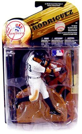 McFarlane Toys MLB Sports Picks Series 24 (2009 Wave 1) Action Figure Alex Rodriguez (New York Yankees) (Wave Mlb 2009)