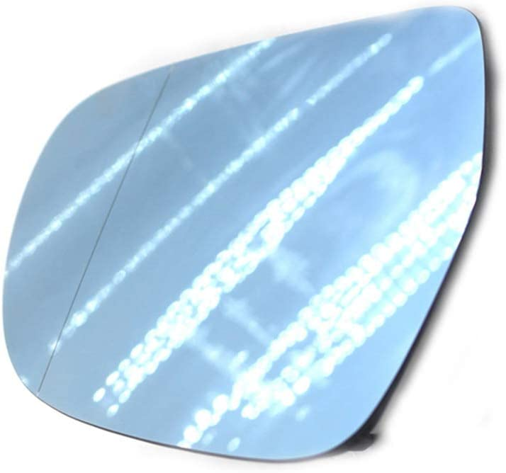 Kongnijiwa Reemplazo para A4 B8 C6 2009-2012 Lado Derecho climatizada de Cristal del Espejo retrovisor 8T0857536D 4F0857536AE
