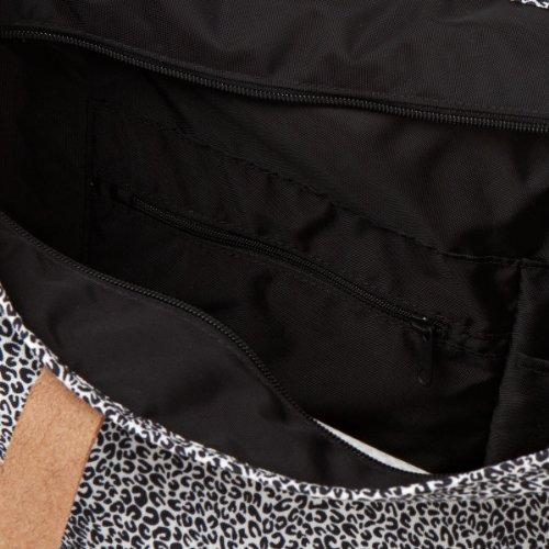 Cheetah Tracolla Flask zaini Borsa Eastpak K858 Borse nero Bianco 45g awq1HaAvnx