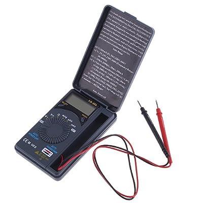 KKmoon Mini Pocket Auto Range AC/DC U/I LCD Digital Multimeter