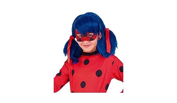 Ladybug Antifaz Infantil Deluxe Miraculous, Talla única (RubieS Spain 34975): Amazon.es: Juguetes y juegos