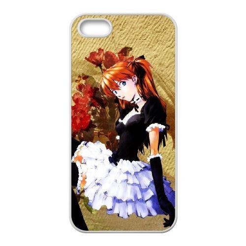 Y6R14 Asuka D3W0CD coque iPhone 4 4s cellule de cas de téléphone couvercle coque blanche CZ1LTK9XM