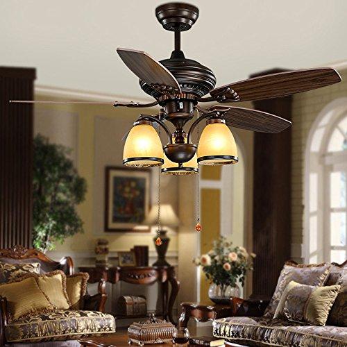 Outdoor 48 Inch Rubbed Bronze 2 Light Ceiling Fan - 9