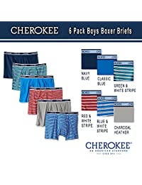 Cherokee boys Cherokee Boys 6 Pack Boxer Brief