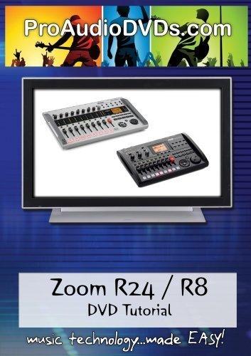 Zoom R24/R8 DVD Video Tutorial Manual Help B01GUP9LSU