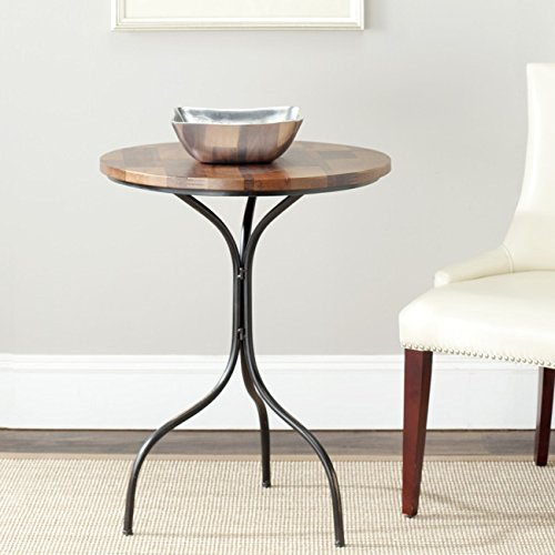 Safavieh American Home Collection Stalham Copper And Brown Side Table
